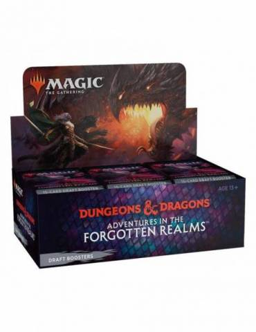 Magic: Adventures in the Forgotten Realms - Draft Booster Display (36) (Inglés)