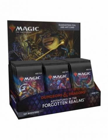 Magic: Adventures in the Forgotten Realms - Set Booster Display (Inglés)
