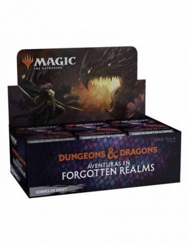 Magic: Aventuras en Forgotten Realms - Caja de Sobres de Draft (36) (Castellano)