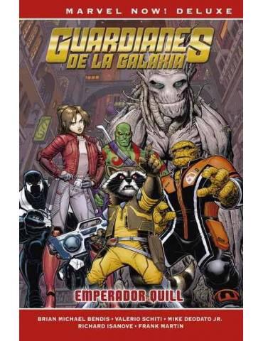 Guardianes de la Galaxia de Brian M. Bendis 04: Emperador Quill (Marvel Now! Deluxe)