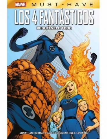 Marvel Must-Have. Los 4 Fantásticos: Resuelvelo Todo
