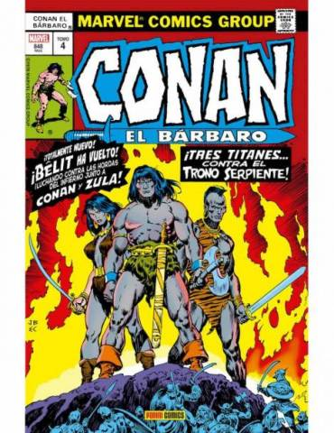 Conan El Barbaro: La Etapa Marvel Original 04.