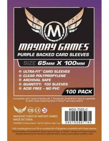 Fundas Mayday Magnum Ultra-Fit 7 Wonders Purple Backed 65x100 (100 unidades)