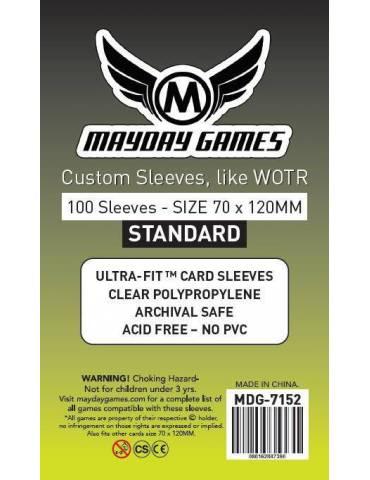Fundas Mayday Tarot Standard 70x120mm (100 unidades)
