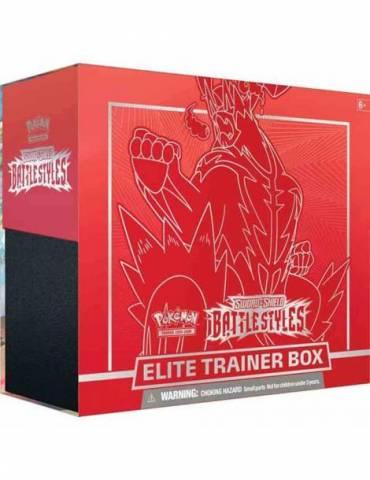 Pokémon TCG: Sword & Shield - Battle Styles Elite Trainer Box (Red) (Inglés)
