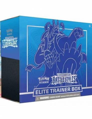 Pokémon TCG: Sword & Shield - Battle Styles Elite Trainer Box (Blue) (Inglés)