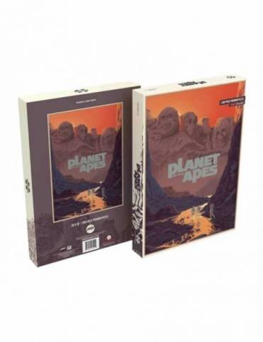 Puzle El planeta de los simios: Mount Rushmore (1000 piezas)