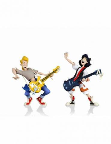 Set de 2 Figuras Bill and Ted's Excellent Adventure: Bill y Ted 15 cm