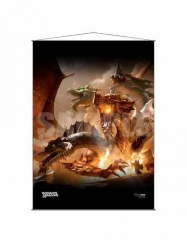 Wall Scroll Ultra Pro Dungeons & Dragons Cover Series: The Rise of Tiamat