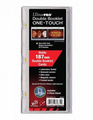 One-Touch Booklet Card Holder 187mm