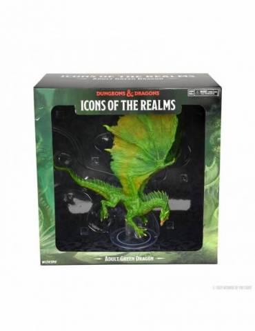 D&D Icons of the Realms: Adult Green Dragon Premium Figure