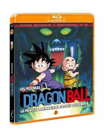 Dragon Ball La Película 2. La Princesa Durmiente del Castillo del Demonio (Bluray)
