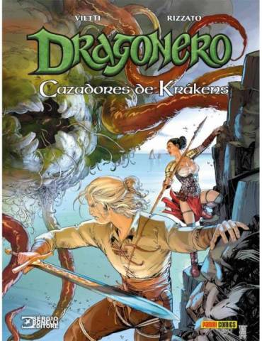 Dragonero 08. Cazadores De Krakens