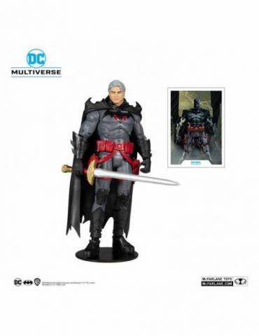 Figura DC Multiverse Thomas Wayne Flashpoint Batman (Unmasked) 18 cm
