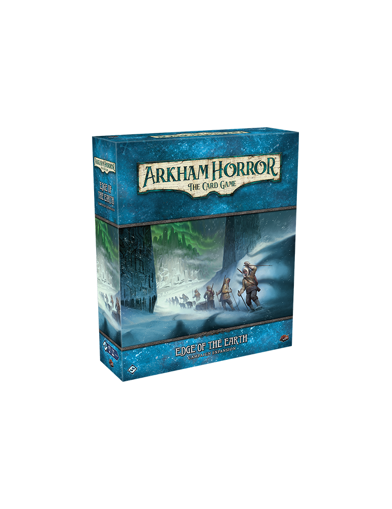 Arkham Horror: The Card Game - Edge of the Earth Campaign Expansion (Inglés)