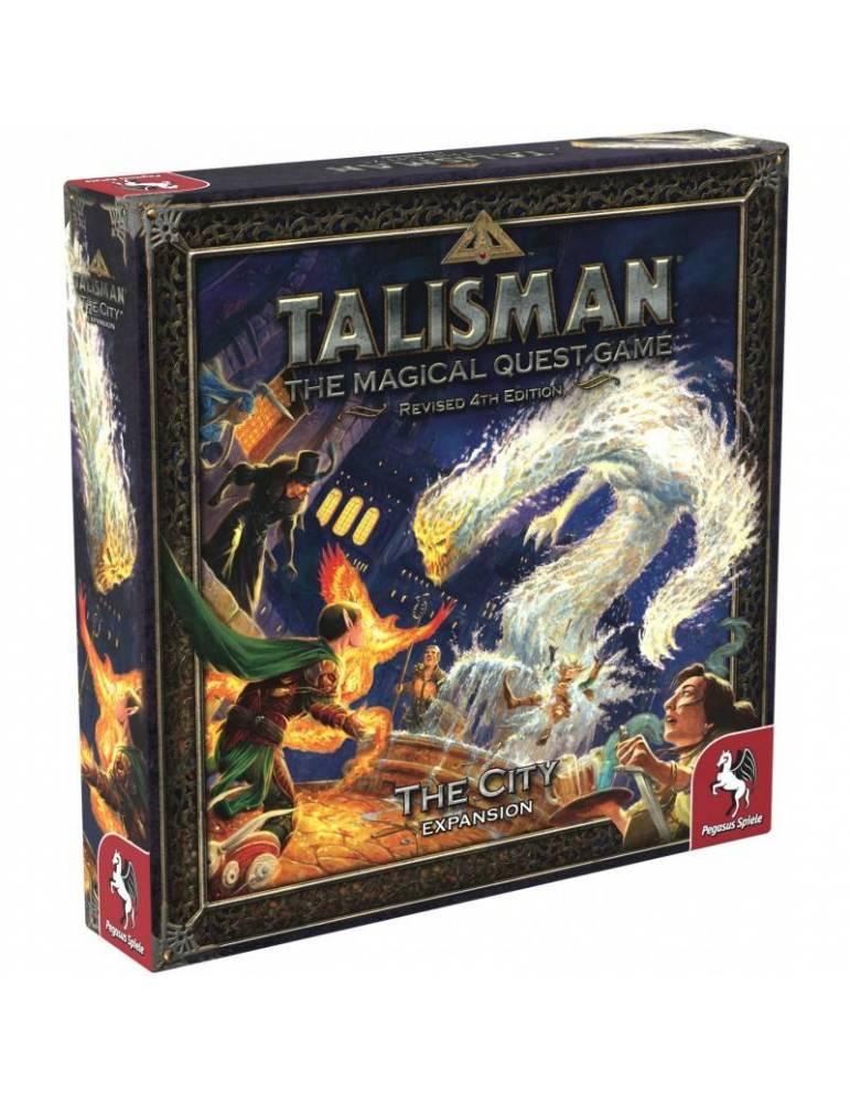 Talisman Revised 4th Edition: The City Expansion (Inglés)
