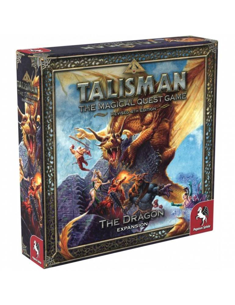 Talisman Revised 4th Edition: The Dragon Expansion (Inglés)