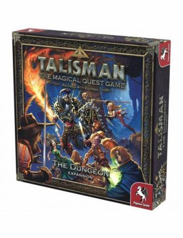 Talisman Revised 4th Edition: The Dungeon Expansion (Inglés)