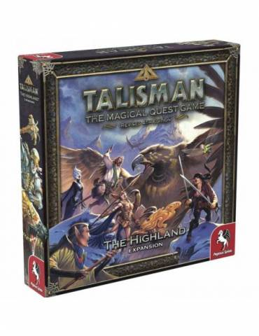 Talisman Revised 4th Edition: The Highland Expansion (Inglés)