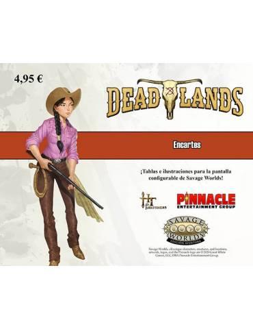 Encarte Deadlands: El Extraño Oeste