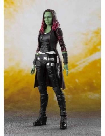Figura Marvel Avengers Infinity War SH Figuarts: Gamora 14.5 cm