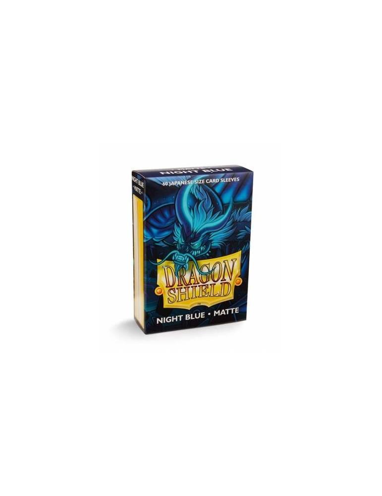 Fundas Small Dragon Shield Matte Night Blue - Paquete De 60