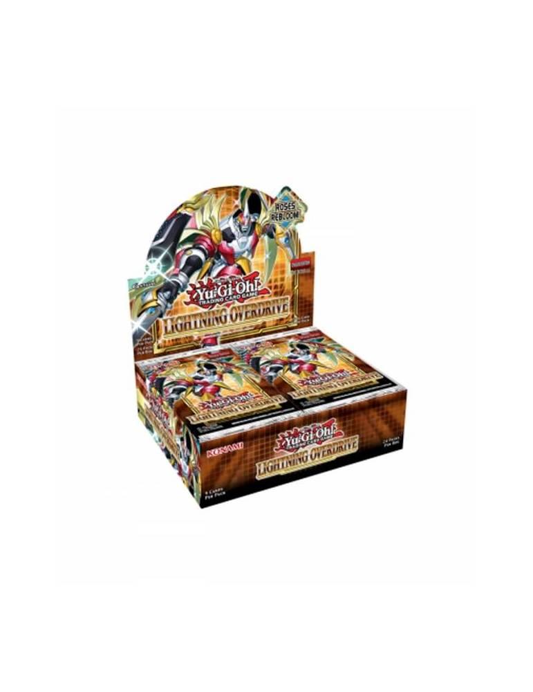 Yu-Gi-Oh! Lightningh Overdrive: Sobre de cartas (Inglés)