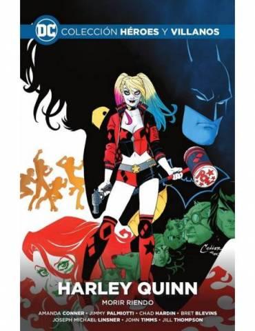 Colección Héroes y villanos vol. 11 - Harley Quinn: Morir riendo