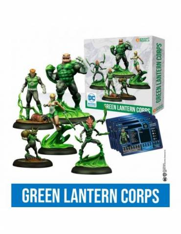 DC Universe Miniature Game - Green Lantern Corps (Inglés)