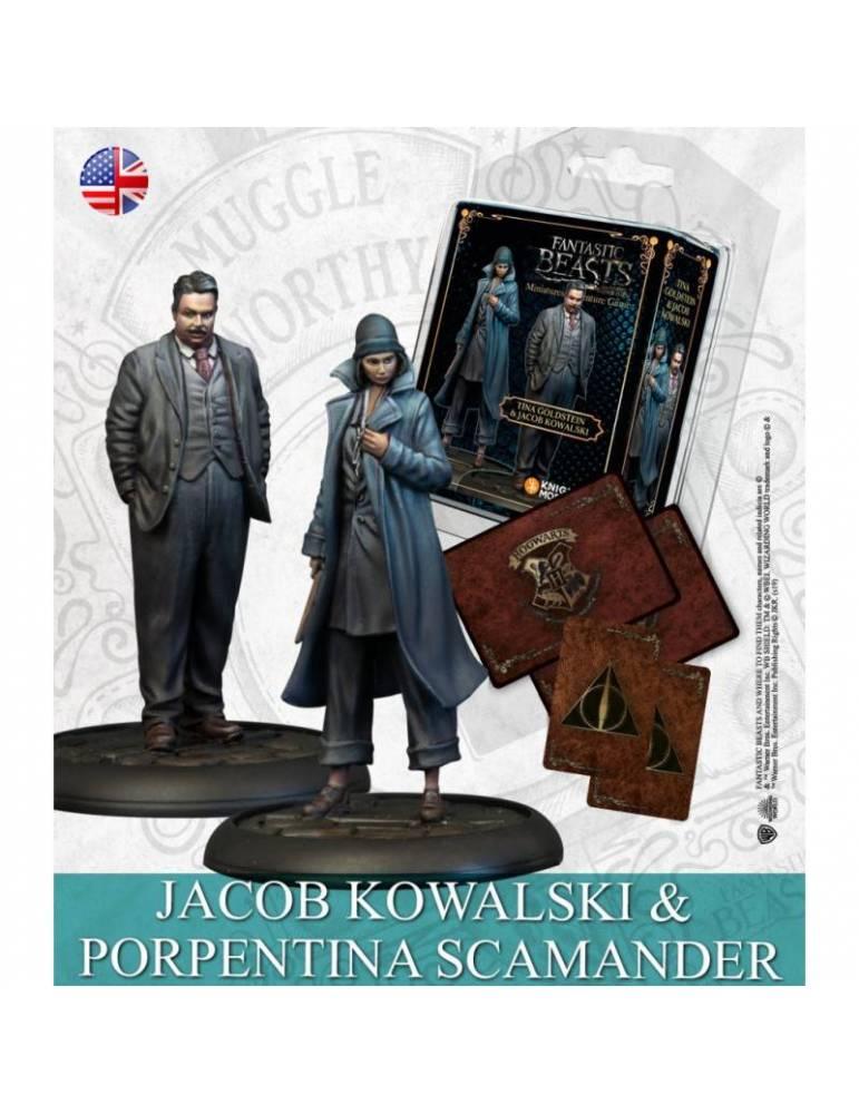 Harry Potter Miniatures Adventure Game - Tina Goldstein & Jacob Kowalski (Inglés)