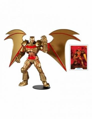 Figura DC Multiverse Batman Hellbat Suit (Gold Edition) 18 cm