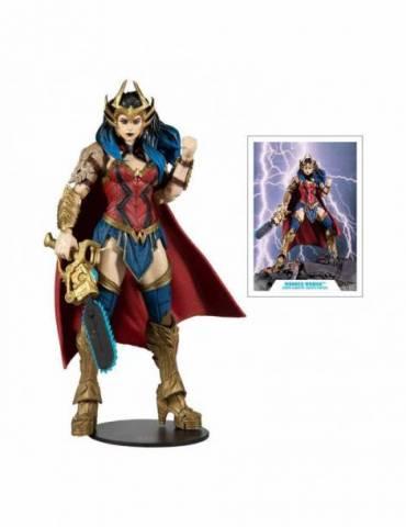 Figura DC Multiverse Build A Wonder Woman 18 cm