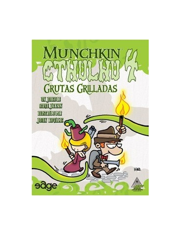 Munchkin Cthulhu 4: Grutas...