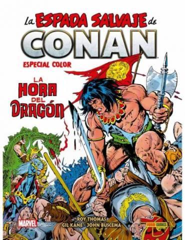 Biblioteca Conan. La Espada Salvaje de Conan - Especial Color. La Hora del Dragón