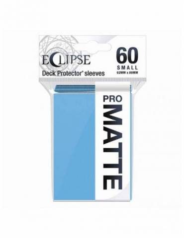 Fundas Eclipse Matte Small Ultra Pro Sky Blue - Paquete De 60