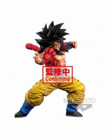 Figura Dragon Ball Super World Figure Colosseum 3 Super Master Piece 2 Dim: Ss4 Son Goku Fig 25 cm