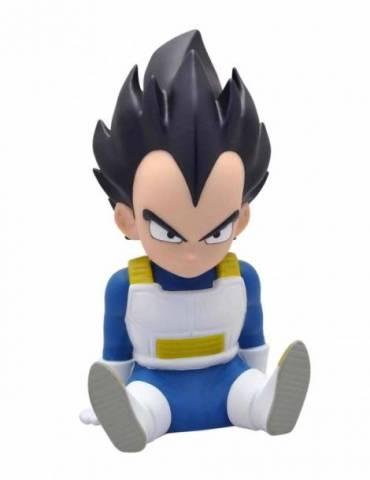 Figura Pvc Dragon Ball: Vegeta Sentado Chibi Hucha 15 cm