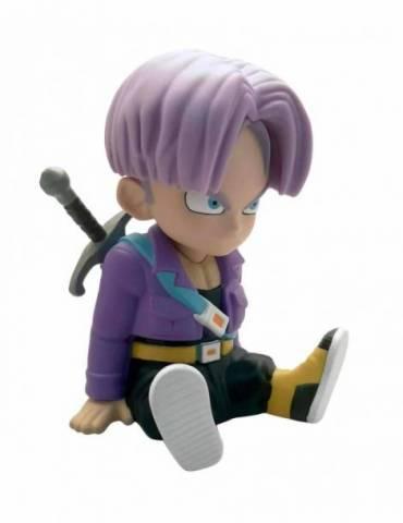 Figura Pvc Dragon Ball: Trunks Sentado Chibi Hucha 15 cm