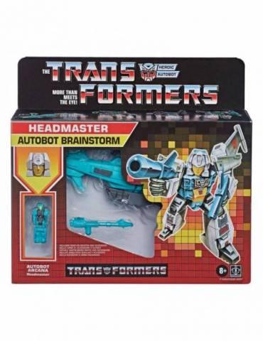 Surtido Headmasters Retro 4 Figuras Transformers Gen Deluxe