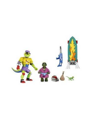 Figura Tortugas Ninja TMNT Cartoon Ultimate Mondo Gecko 18 cm