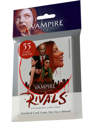 Vampire the Masquerade Rivals Library Deck Sleeves (55)