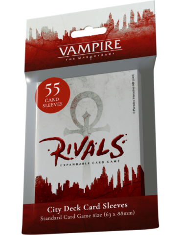 Vampire the Masquerade Rivals City Deck Sleeves (55)