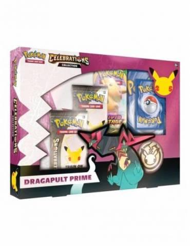 Pokémon TCG Colección Dragapult Prime Celebrations (Inglés)