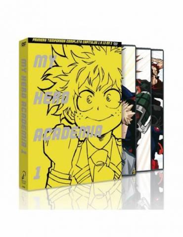 My Hero Academia Temporada 1 (2021) (DVD)