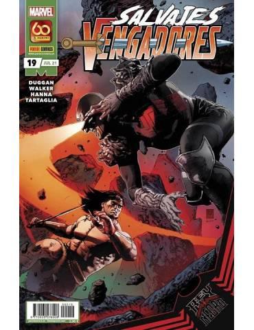 Salvajes Vengadores 19