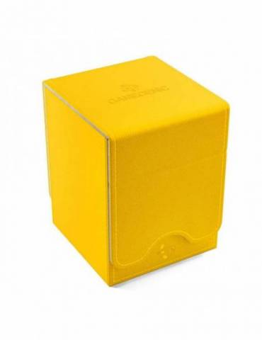 Caja para cartas Gamegenic Squire 100+ Convertible Yellow