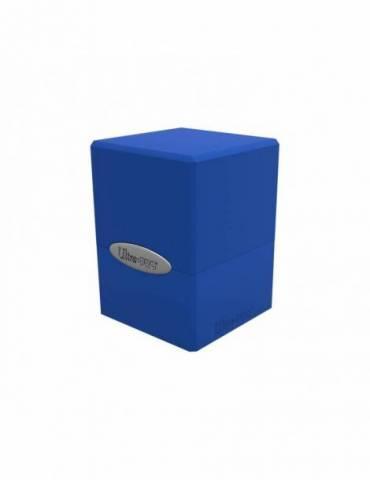 Deck Box Satin Cube: Pacific Blue