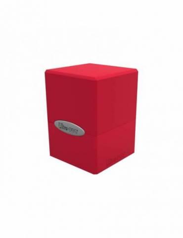 Deck Box Satin Cube: Apple Red
