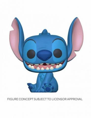 Figura POP Lilo & Stitch Disney: Smiling Seated Stitch 9 cm