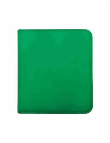 Binder Zippered (12 Bolsillos) Verde - Ultra Pro